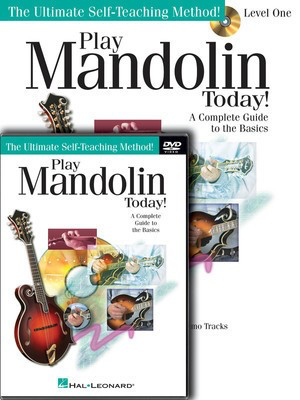 Play Mandolin Today! Beginner's Pack - Level 1 Book/CD/DVD Pack - Mandolin Doug Baldwin Hal Leonard /CD/DVD
