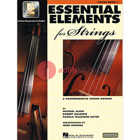 Essential Elements for Strings - Book 1 with EEi/Online Audio - Violin - Michael Allen | Pamela Tellejohn Hayes | Robert Gillespie - Hal Leonard