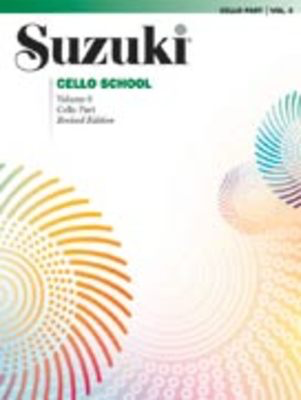 Suzuki Cello School Piano Acc., Volume 6 (Revised) - Cello Summy Birchard Piano Accompaniment
