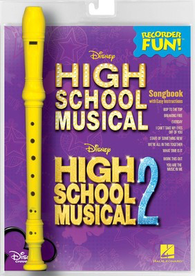 High School Musical - Recorder Fun Pack - Recorder Hal Leonard Package