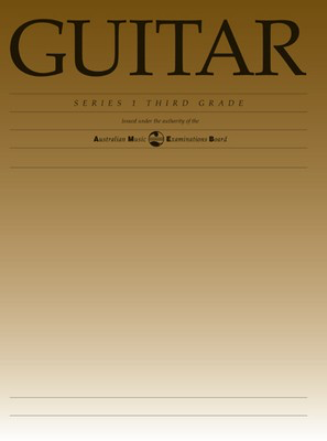 Guitar Series 1 - Third Grade - Classical Guitar|Guitar AMEB - Adlib Music