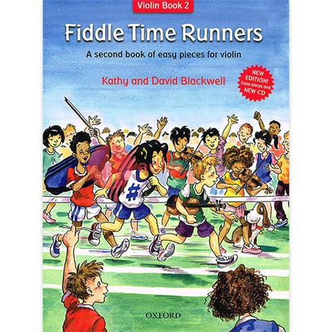 Fiddle Time Runners Book & CD - A second book of easy pieces for violin - David & Kathy Blackwell