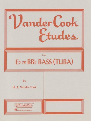 Vandercook Etudes for Bass/Tuba (B.C.) - H.A. VanderCook - Tuba Rubank Publications
