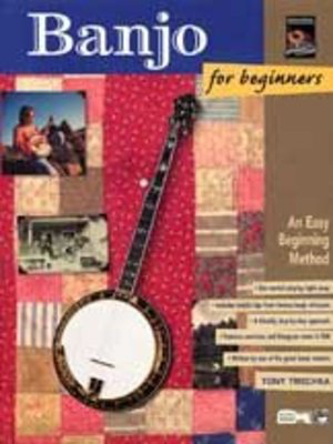 Banjo for Beginners - An Easy Beginning Method - Tony Trischka - Banjo Alfred Music /CD - Adlib Music