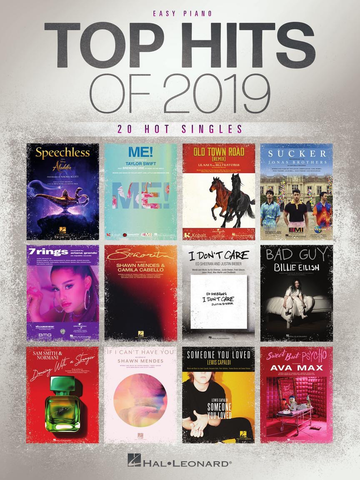 Top Hits Of 2019 - Easy Piano Hal Leonard 302273