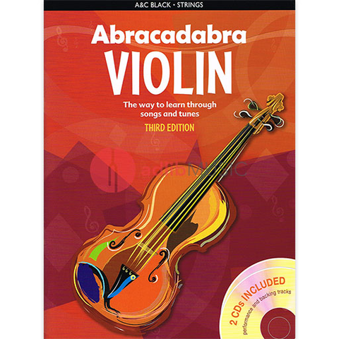 Abracadabra Violin 3rd Edition Book + 2CDs - Peter Davey