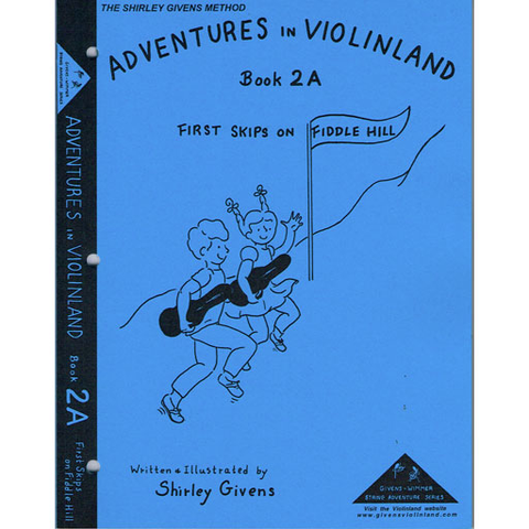 Adventures in Violinland Book 2A - Violin by Givens SS2A