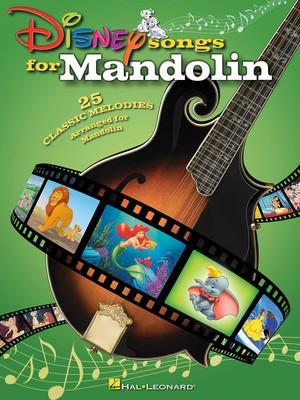 Disney Songs for Mandolin - Various - Mandolin Hal Leonard