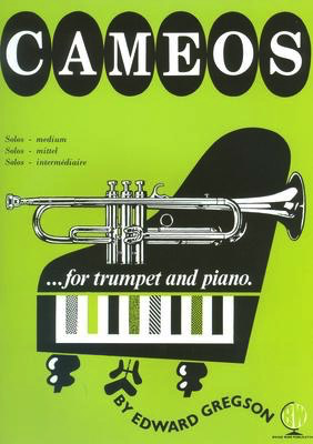 CAMEOS FOR TRUMPET/PIANO - GREGSON - TRUMPET - BRASSWIND