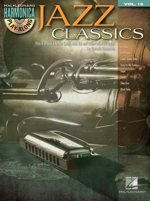 Jazz Classics - Harmonica Play-Along Volume 15 - Various - Harmonica Hal Leonard /CD