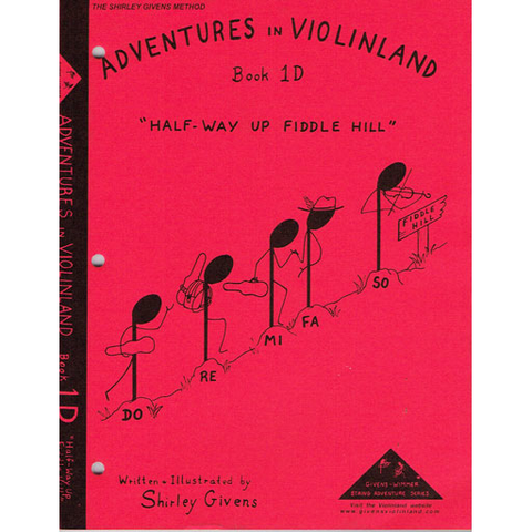 Adventures in Violinland Book 1D - Violin by Givens SS1D