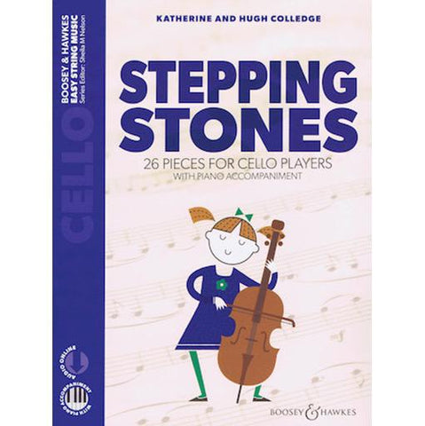 Stepping Stones - Cello/Audio Access Online/Piano Accompaniment by Colledge Boosey & Hawkes M060135484 New Edition