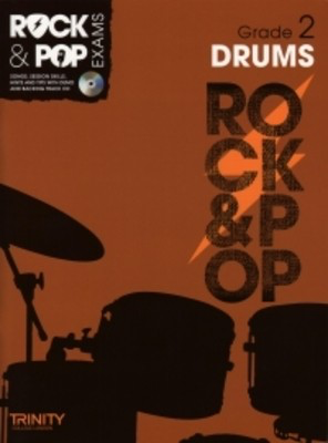 Rock & Pop Exams: Drums - Grade 2 - Book with CD - Drums Trinity College London /CD
