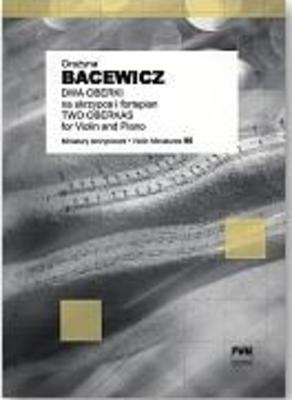 Bacewicz - 2 Oberek - Violin/Piano Accompaniment PWM PWM7182040