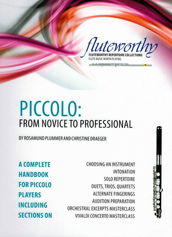 Piccolo: From Novice To Professional - Plummer & Draeger -  Fluteworthy