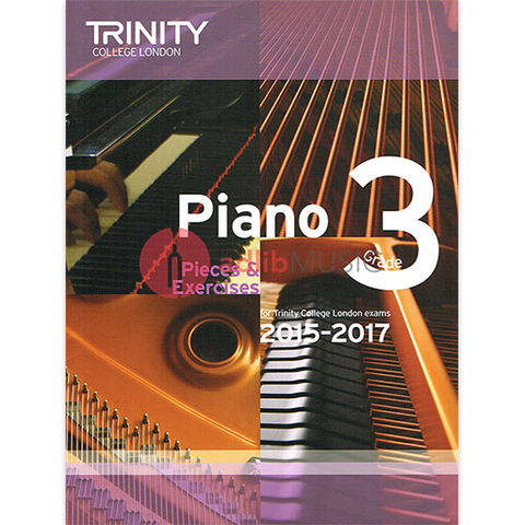 Trinity Piano Exam Pieces 2015-17 Grade 3 - Trinity
