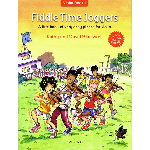 Fiddle Time Joggers - Violin/CD by Blackwell New Edition 2013 Oxford 9780193386778