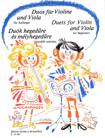 DUETS FOR VIOLIN & VIOLA FOR BEGINNERS - EMB
