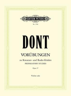 24 Exercises Op. 37 - Jacob Dont - Violin Edition Peters