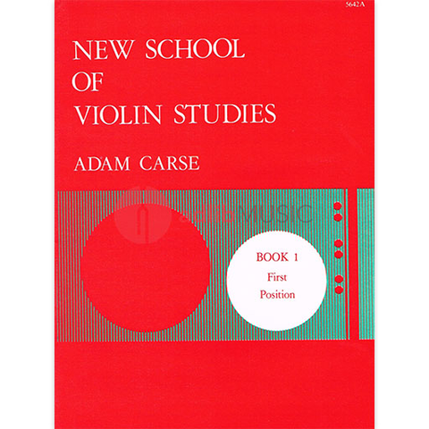 New School of Violin Studies Book 1 - First Postion - Adam Carse - Stainer & Bell