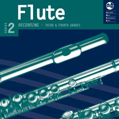 Flute Series 2 - CD and Notes Third and Fourth Grades - Flute AMEB CD