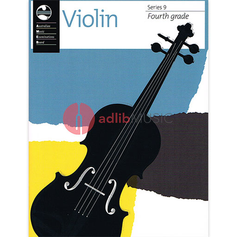 Violin Series 9 - Fourth Grade - Violin AMEB