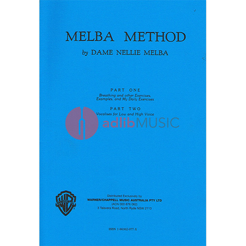 MELBA METHOD PT 1/2 - MELBA - Warner Bros