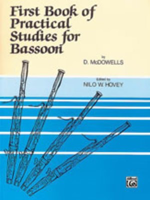 First Book Of Practical Studies For Bassoon Bk 1 -