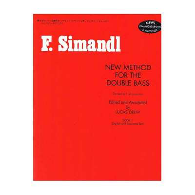 New Method for the Double Bass - Book 1 - Franz Simandl - Double Bass Carl Fischer - Adlib Music