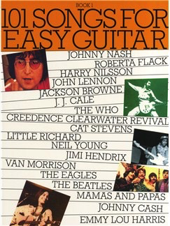 101 Songs For Easy Guitar: Book 1 - Music Sales - Easy Guitar with Lyrics & Chords