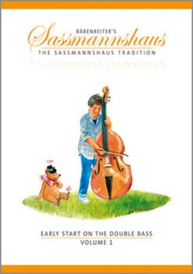 Early Start on the Double Bass, Volume 1 - Double Bass Egon Sassmannshaus|J. Peter Close Barenreiter