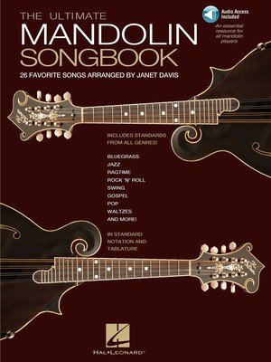 The Ultimate Mandolin Songbook - 26 Favorite Songs Arranged by Janet Davis - Mandolin Janet Davis Hal Leonard /CD
