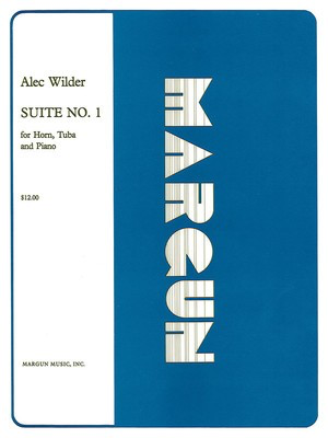 Suite No 1 for Horn, Tuba and Piano - Full Set - Alec Wilder - Tuba Margun Music