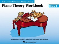 Piano Theory Workbook - Book 1 - Hal Leonard Student Piano Library - Piano Fred Kern|Karen Harrington|Mona Rejino|Phillip Keveren Hal Leonard - Adlib Music