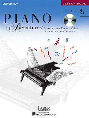 Piano Adventures Level 2A - Lesson Book - Book/CD 2nd Edition - Nancy Faber|Randall Faber - Piano Faber Piano Adventures /CD - Adlib Music