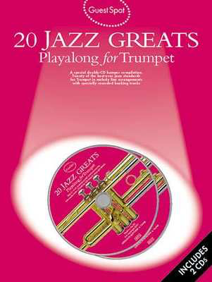 Guest Spot: 20 Jazz Greats Playalong For Trumpet - Trumpet Wise Publications /CD - Adlib Music