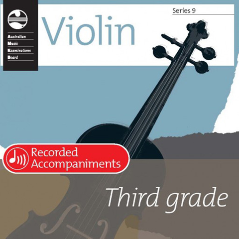 AMEB Series 9 Grade 3 - Recorded Accompaniment CD for Violin 1203071739
