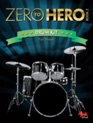 Zero To Hero Drum Kit Book 2 - Drums Sasha Music Publishing Softcover