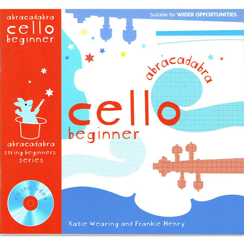 Abracadabra Cello Beginner - Cello/CD by Wearing/Henry A&C Black 713693665