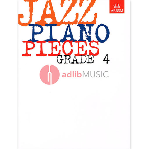 Jazz Piano Pieces, Grade 4 - Piano ABRSM Piano Solo
