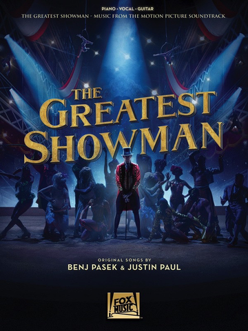 The Greatest Showman: Music From The Motion Picture - Piano/Vocal/Guitar PVG Hal Leonard 250373