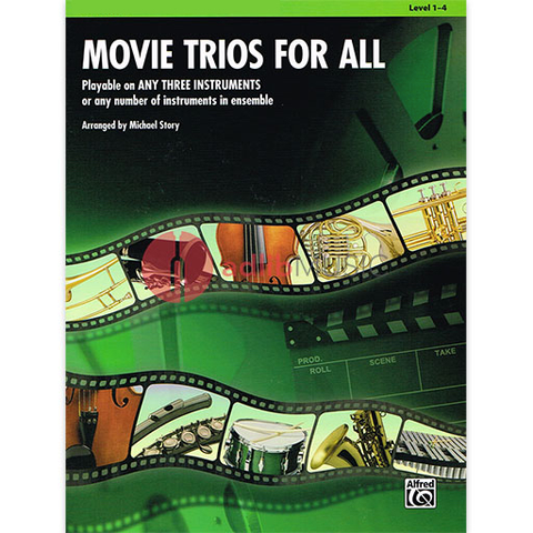 Movie Trios for All - Viola - Various - Michael Story - Alfred Music
