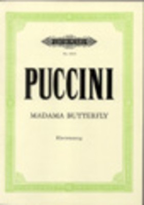 Madam Butterfly Vocal Score - Giacomo Puccini - Classical Vocal Edition Peters Vocal Score