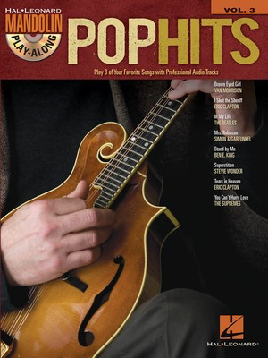 Pop Hits - Mandolin Play-Along Volume 3 - Various - Mandolin Hal Leonard /CD