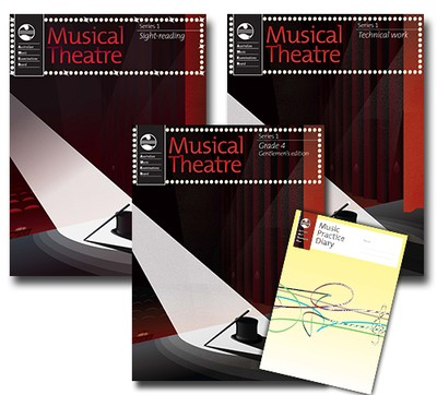 Musical Theatre Series 1 - Grade 4 Gentlemens Edition - Student Pack - Vocal AMEB - Adlib Music