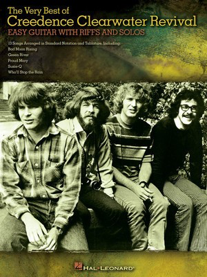 The Very Best of Creedence Clearwater Revival - Easy Guitar with Notes & Tab - Guitar Hal Leonard Easy Guitar with Notes & TAB - Adlib Music