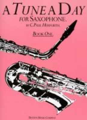 A Tune A Day for Saxophone - Book 1 - Saxophone Paul Herfurth Boston Music - Adlib Music