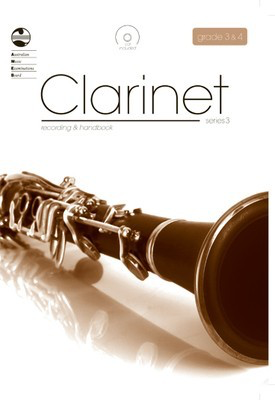 Clarinet Series 3 - Recording and Handbook Grades 3 & 4 - Clarinet AMEB /CD - Adlib Music