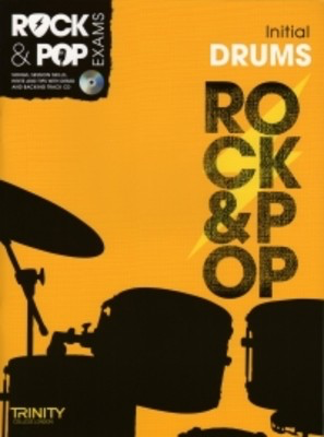 Rock & Pop Exams: Drums - Initial - Book with CD - Drums Trinity College London /CD