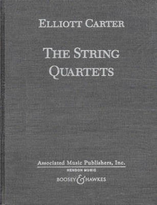 The String Quartets - Complete in Hardbound - Elliott Carter - Boosey & Hawkes Study Score Score